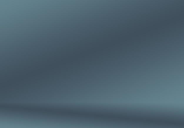 Desenfoque de lujo abstracto degradado gris oscuro y negro utilizado como pared de estudio de fondo para mostrar su pr ...