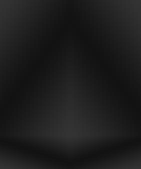Desenfoque de lujo abstracto fondo degradado gris oscuro y negro