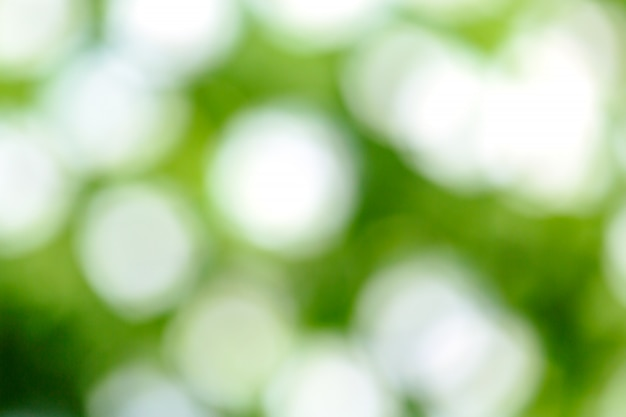 Desenfoque verde fresco