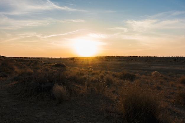 Desierto de thar en rajasthan india