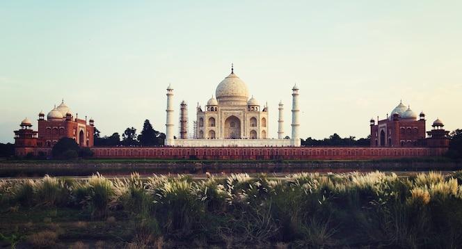 Destino de viaje de la india hermoso atractivo