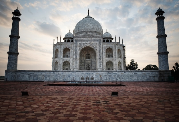 Destino turístico indio hermoso atractivo