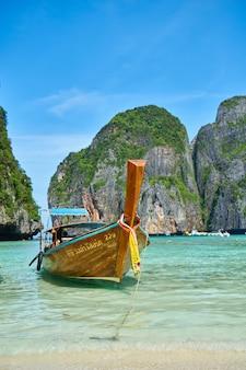Los destinos de viaje idílica isla de relajación verano