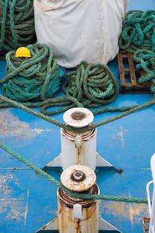 Detalle de barco de pesca