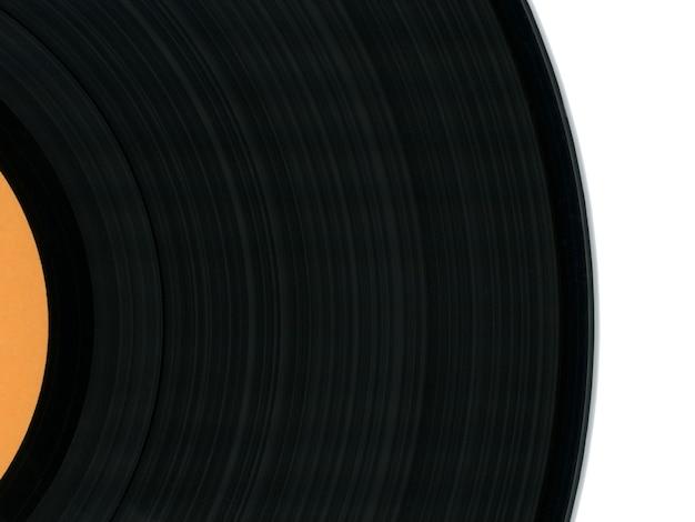 Detalle del disco de vinilo