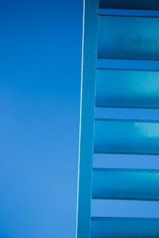 Detalle de escaleras urbanas