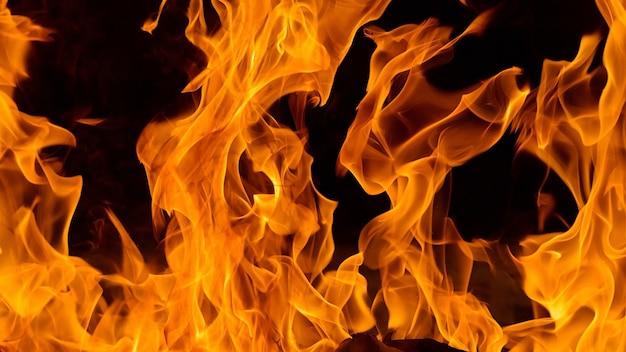 Detalle de fuego llama fondo y patrón