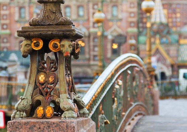 Detalle del puente malo-koniushennyi