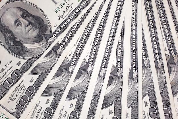 Detalles de billetes de 100 dólares