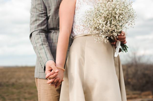 Detalles de la boda - ramo de novia colouful de la novia
