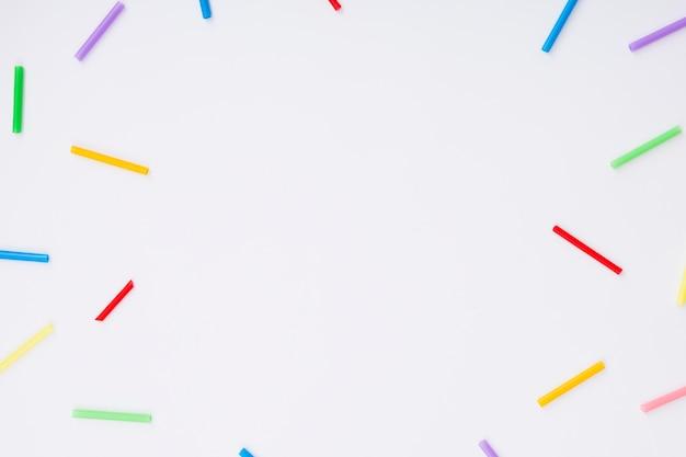 Día feliz del orgullo mundial y espacio de copia