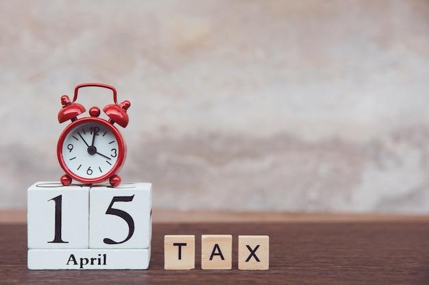 Día de impuestos