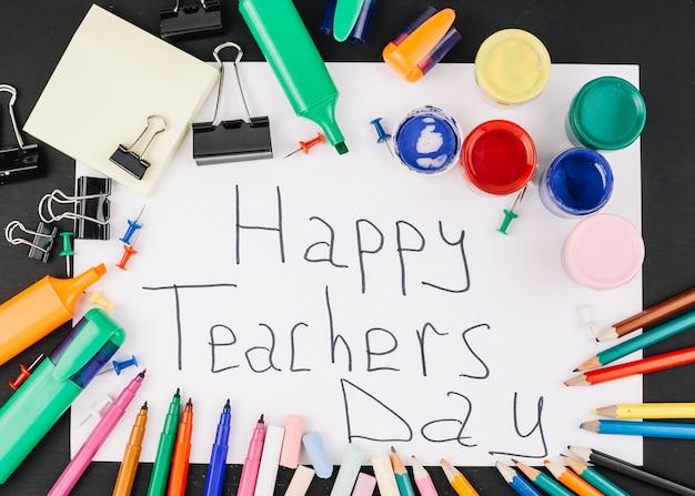 Día del maestro saludo