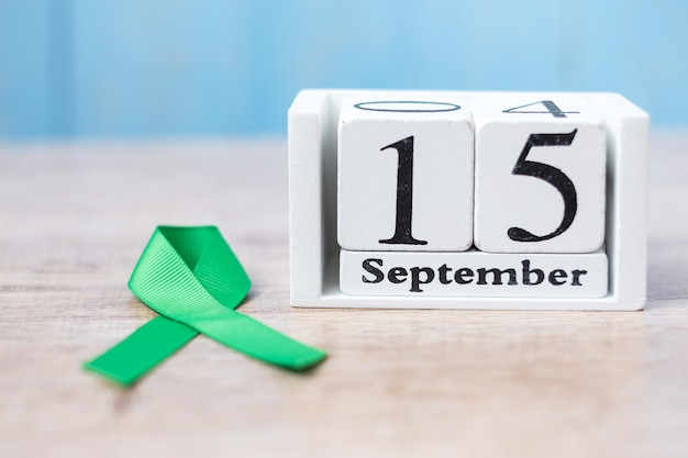 Día mundial de concientización sobre el linfoma, 15 de septiembre del calendario blanco