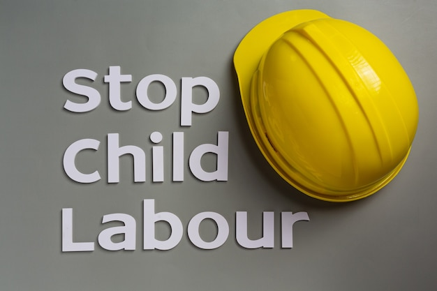 Día mundial contra el concepto de trabajo infantil