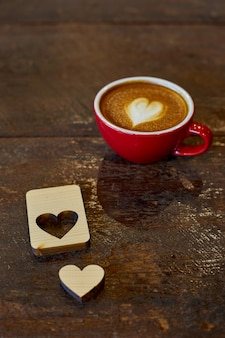 Dia de san valentin cafe tiempo