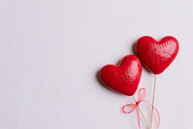 Día de san valentín y el fondo del concepto de amor.