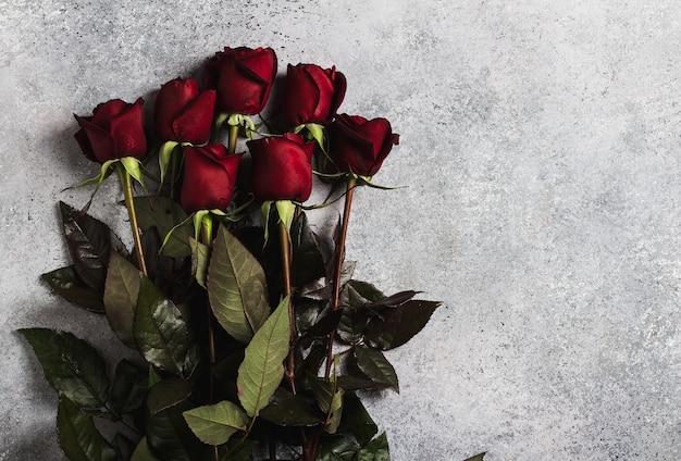 Día de san valentín mujer madres día rosa roja regalo sorpresa