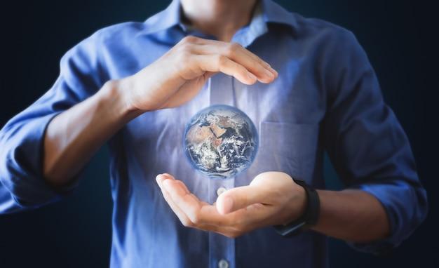 Día de la tierra, ahorrando energía y protegiendo el mundo
