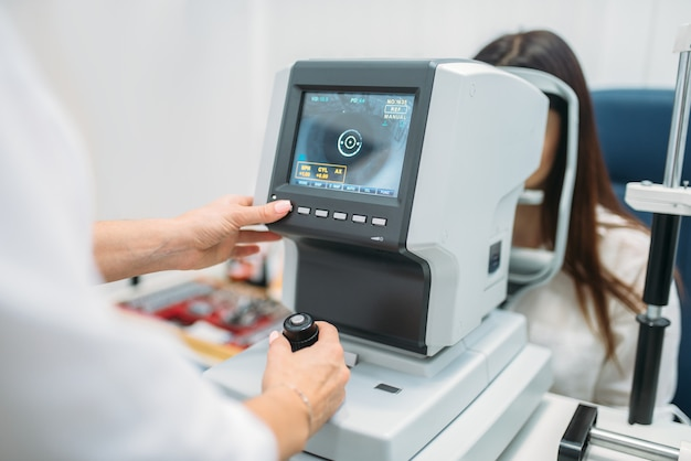Diagnóstico de visión por computadora, elección de gafas.