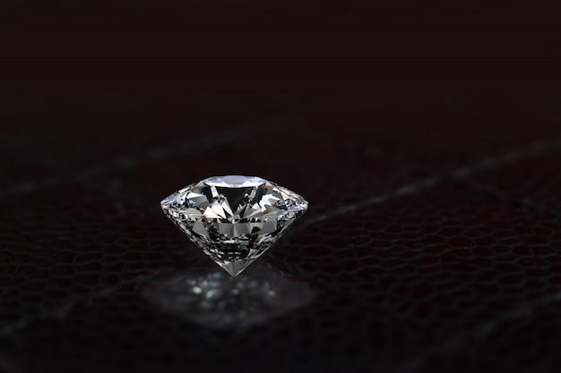Los diamantes son valiosos, caros y raros. para hacer joyas
