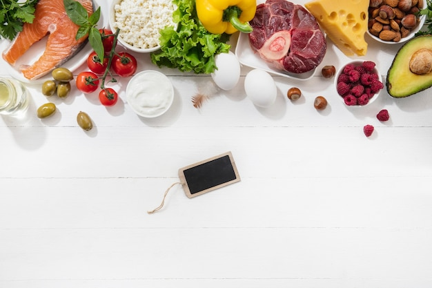 Dieta cetogénica baja en carbohidratos