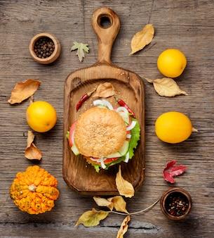 Dieta hamburguesa con verduras
