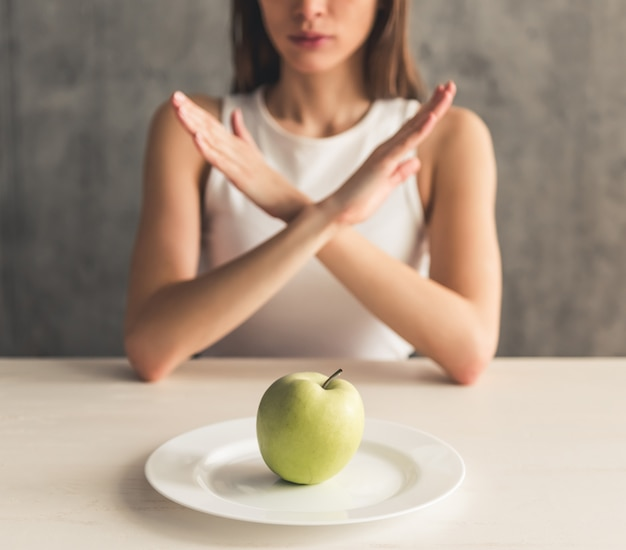 Dieta de mantenimiento de niña