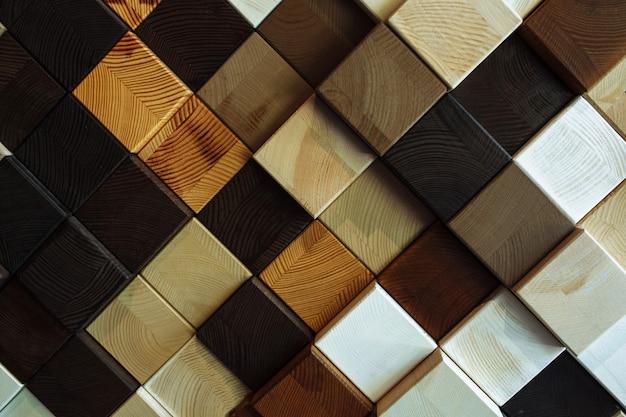 Diferente textura y color de madera, fondo cuadrado, hermoso fondo