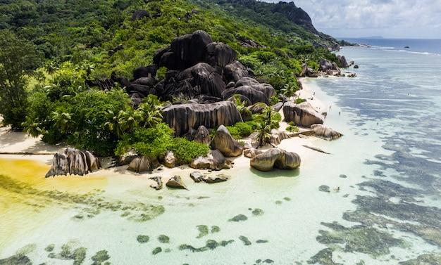 La digue, playa de seychelles