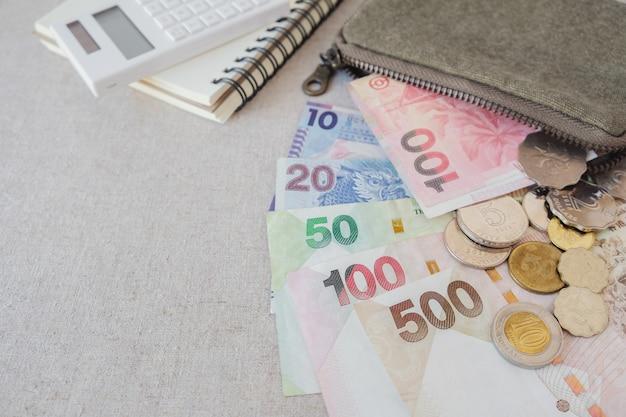 Dinero de dólar de hong kong con espacio de copia