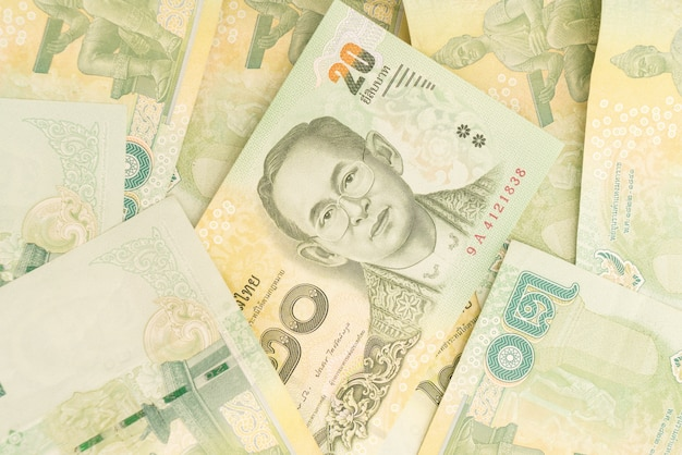 Dinero en efectivo billetes de baño