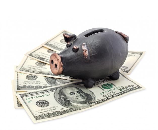 Dinero y hucha