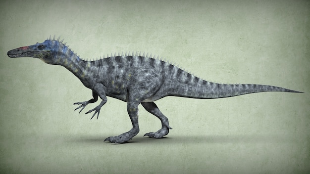 Dinosaurio extinto antiguo. ilustración 3d