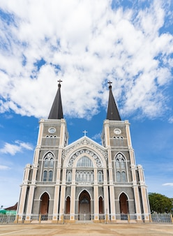 Diócesis católica romana, lugar público en chanthaburi, tailandia.