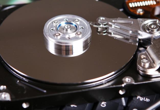 Disco duro disco de cerca
