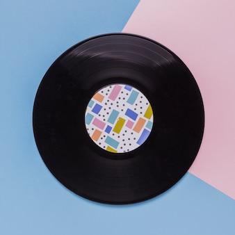 Disco de vinilo vintage