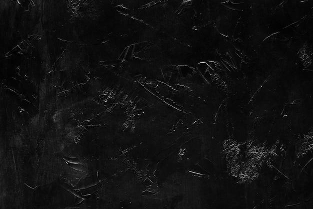 Diseño abstracto áspero angustiado sobre fondo negro