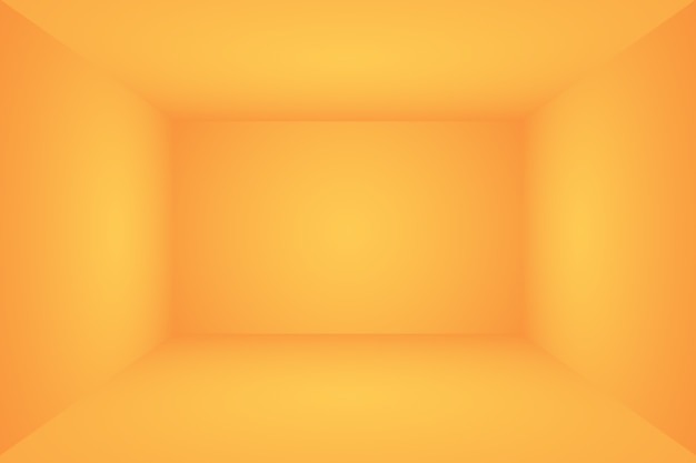 Diseño de diseño de fondo naranja abstracto.informe de negocios de plantilla web de tudioroom con círculo suave g ...