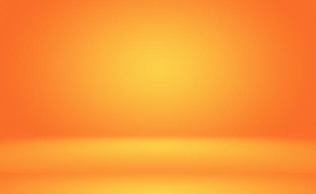 Diseño de diseño de fondo naranja abstracto.