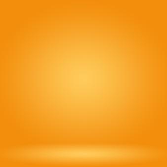 Diseño de diseño de fondo naranja liso abstracto.informe empresarial de plantilla web de tudioroom con c ...