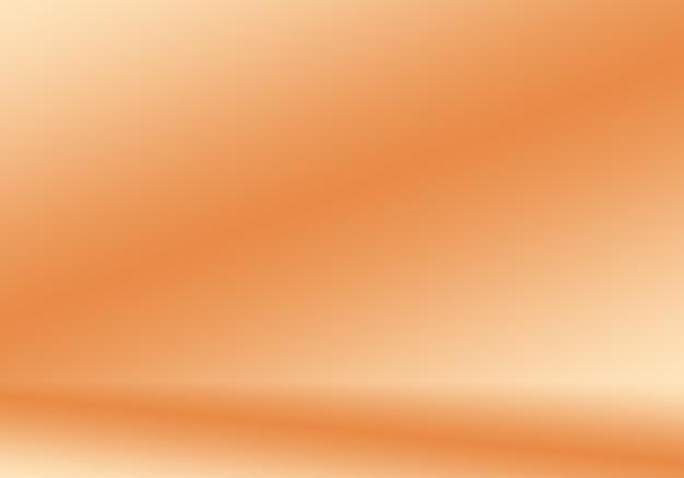 Diseño de diseño de fondo naranja liso abstracto.informe empresarial de plantilla web de tudioroom ...