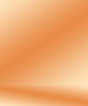 Diseño de diseño de fondo naranja liso abstracto.informe de negocio de plantilla web de tudioroom con c ...