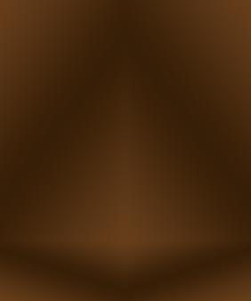 Diseño de diseño de fondo de pared marrón liso abstracto, estudio, habitación, plantilla web, informe comercial con color degradado de círculo suave