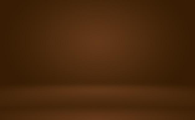 Diseño de diseño de fondo de pared marrón liso abstracto, plantilla web, informe comercial con color degradado de círculo suave.