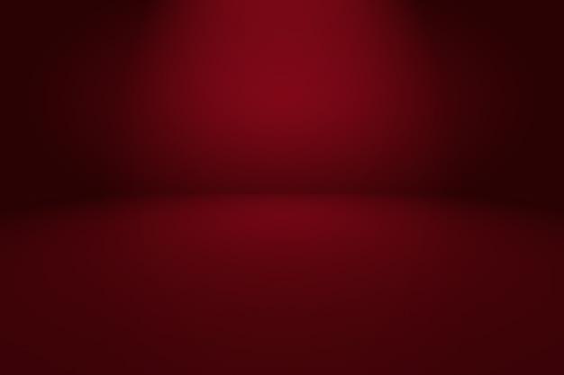 Diseño de diseño de fondo rojo suave de lujo abstracto, estudio, sala. informe comercial con color degradado de círculo suave.