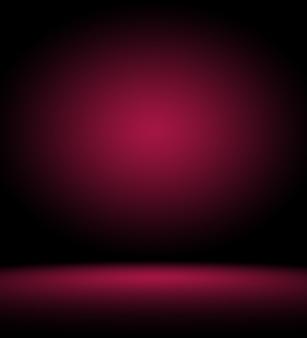Diseño de diseño de san valentín de navidad de fondo rojo suave de lujo abstracto, estudio, habitación, plantilla web, informe comercial con color degradado de círculo suave.