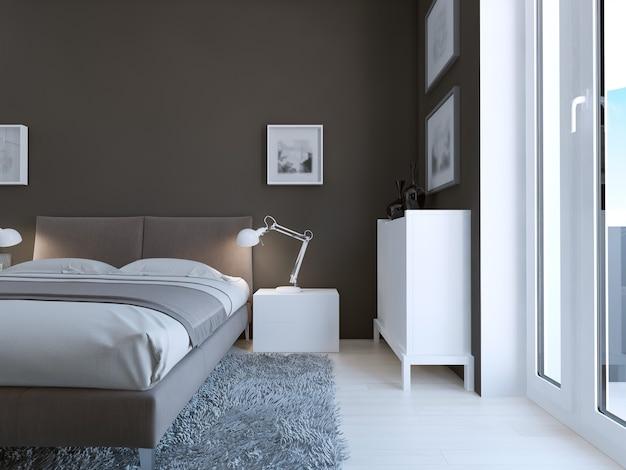 Diseño de dormitorio de alta tecnología