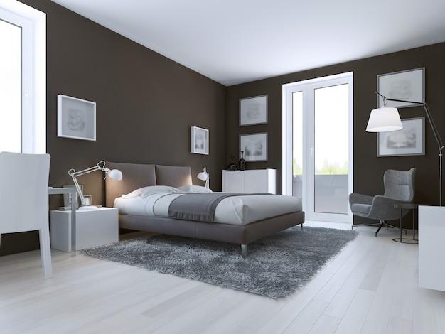 Diseño de dormitorio contemporáneo