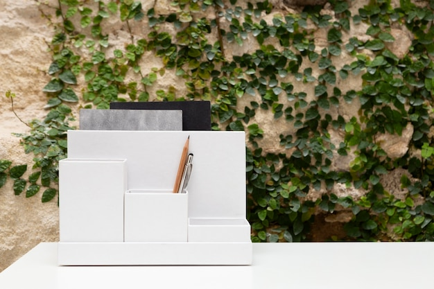 Diseño de espacio de trabajo doméstico mínimo